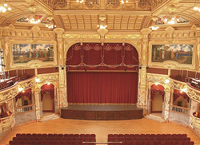 Royal Hall Harrogate stage