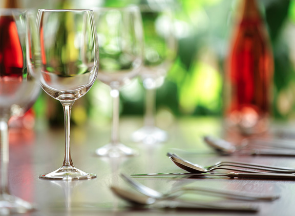 restaurant cafe cutlery and wine glasses HARROGATE LIFESTYLE RESTAURANTS