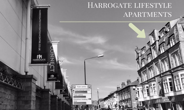 Harrogate Lifestyle apartments and Harrogate Convention Centre Harrogate International Conference Centre accommodation Kings Road
