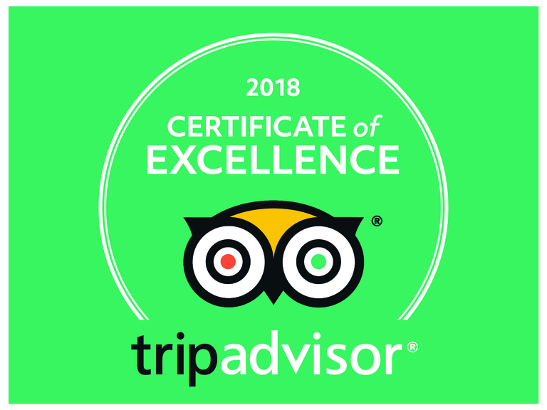 tripadvisor certificate of excellence 2018 Harrogate Lifestyle Apartments