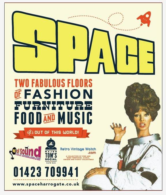 Space vintage fashion and retro furniture designs vinyl records and more