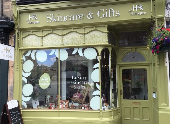 h2k of harrogate skincare products Harrogate Lifestyle Partner