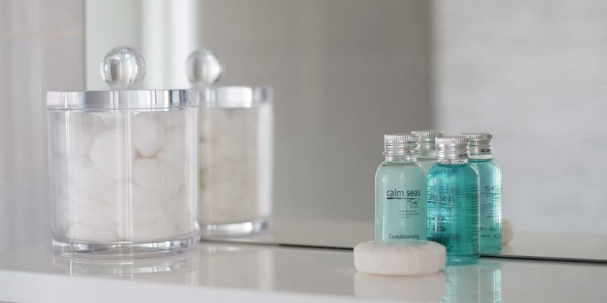 Luxury toiletries at Harrogate Lifestyle Apartments from H2K of Harrogate