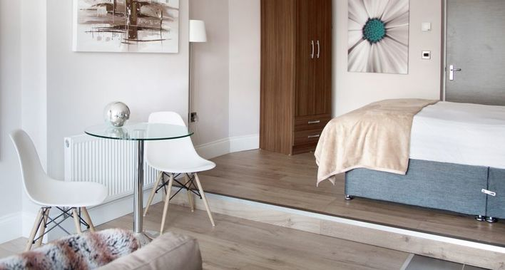 "Harrogate Studio Serviced Apartment Harrogate APPLY PROMO CODE ""GENIUS"" FOR AN EXTRA 10% OFF FOR A LIMITED TIME ONLY - See offers page for T&C's"