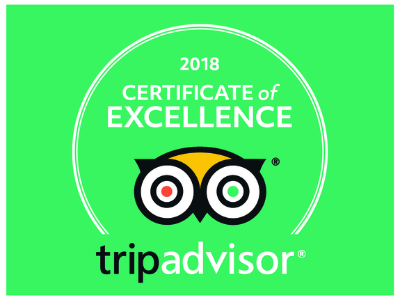 TripAdvisor Certificate of Excellence 2018 awarded to Harrogate Lifestyle Apartments