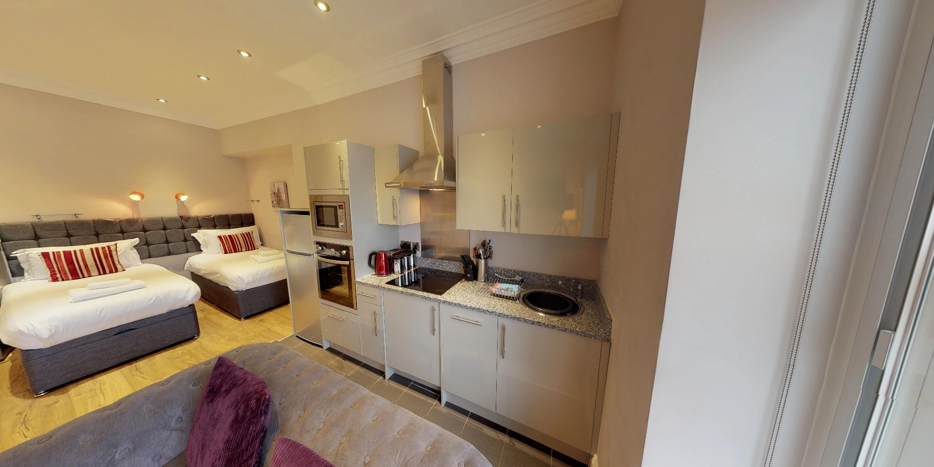 Studio apartment in Harrogate for short term rent