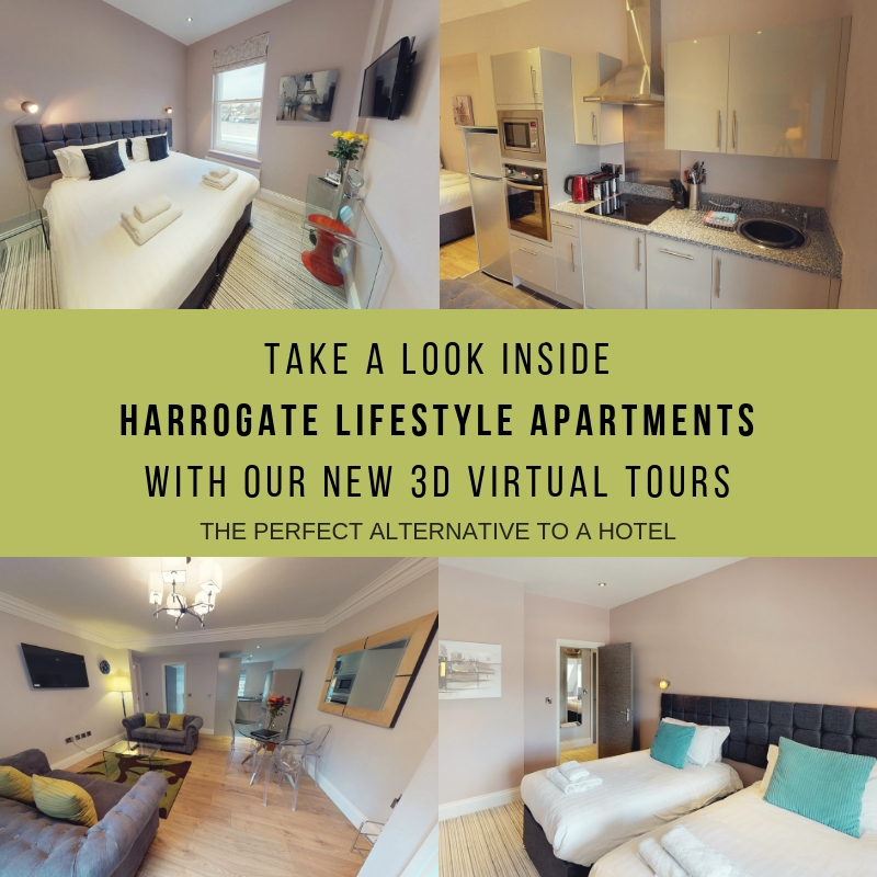 Take a look inside Harrogate Lifestyle Apartments with the BEST 3D Virtual Tours
