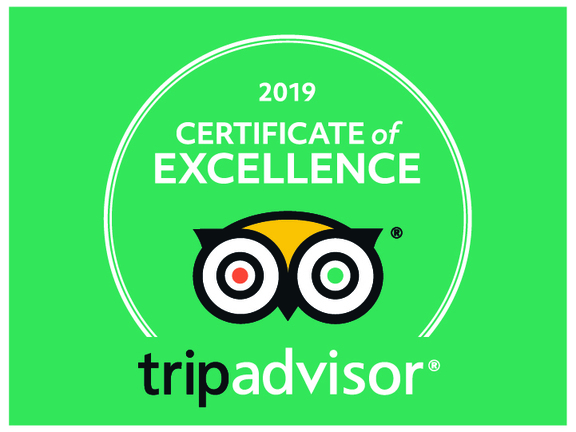 TripAdvisor Certificate of Excellence 2019 for Harrogate Lifestyle Apartments