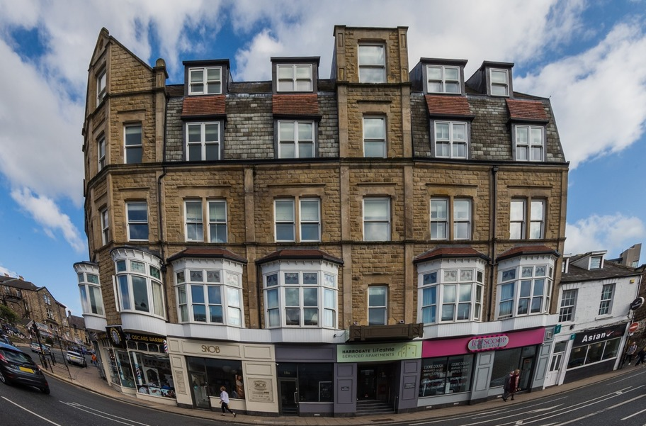 Harrogate Lifestyle Apartments property building front kings road Harrogate