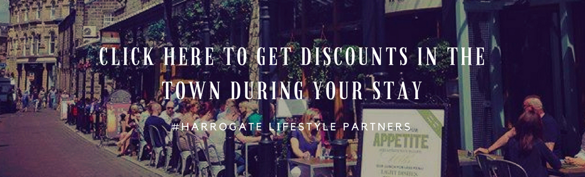 CLICK HERE FOR DISCOUNTS IN HARROGATE RESTAURANTS